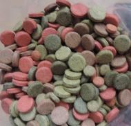 Futtertabletten Mix 4 Sorten Haft       1 kg