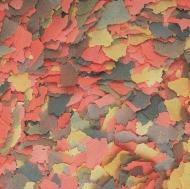 Flockenfutter Stable 4-farbig 0,25 kg