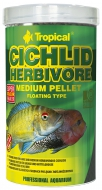 Tropical Cichlid Herbivore Medium Pellet 180 g