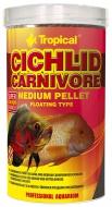 Tropical Cichlid Carnivore MEDIUM Pellet 180 g