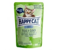 Happy Cat All Meat Adult Veal & Lamb (Kalb & Lamm)       24 x 85 g